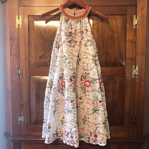 Belle Badgley Mischka Eve Dress in Ivory Multi 8